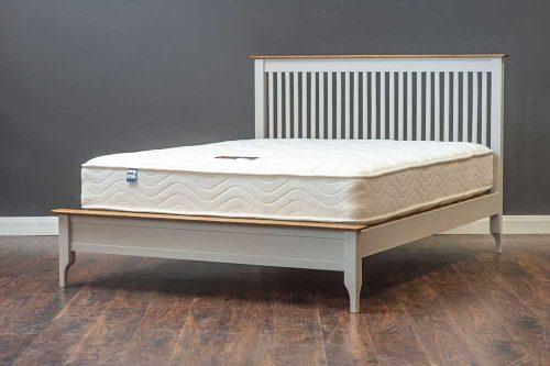 Tara: Bed Frame / Grey & Oak.